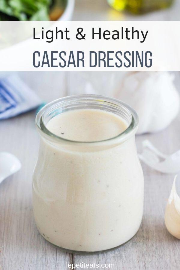 Leichtes & gesundes Caesar Dressing | Ich habe diesen hellen und gesunden Cae gemacht …   – Healthy Recipes