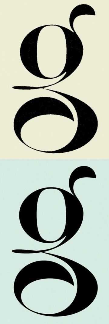 Calligraphy / letter G