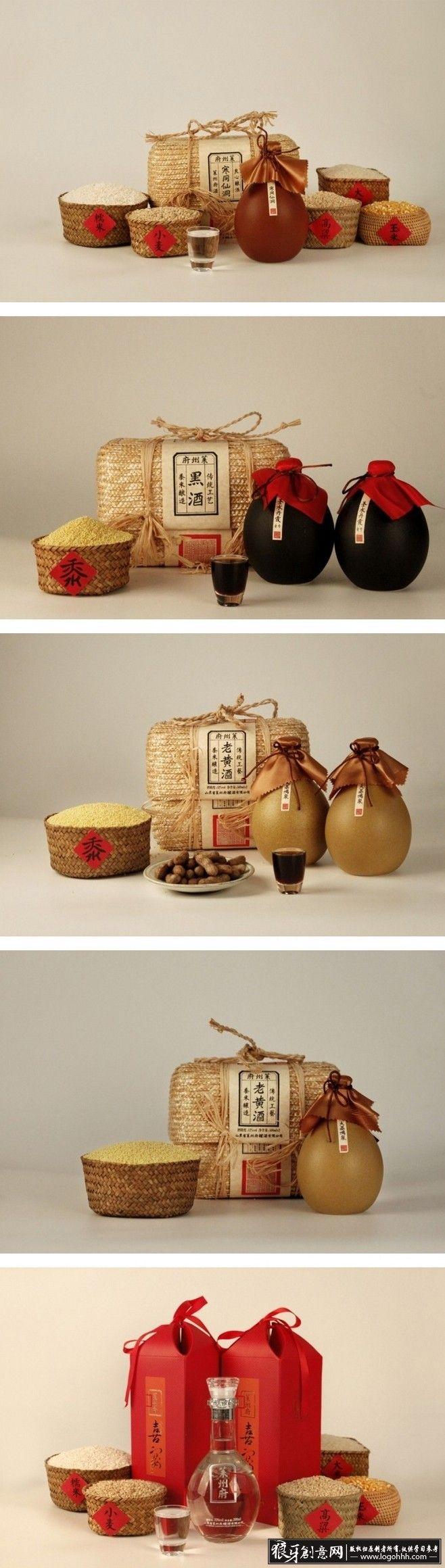 [包装灵感] 莱州府酒品牌产品包装设计 ...