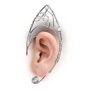 Elven Ear Clips ... thinkgeek has everything!