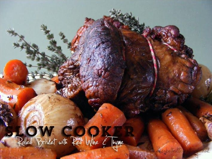 how to cook rolled brisket