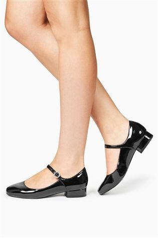 Buy Black Patent Mary Jane Shoes from the Next UK online shop