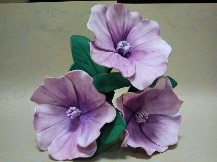 Flores de goma eva de egarrido21  #manualidades #flores
