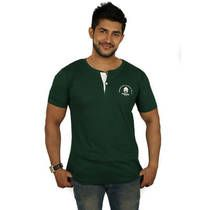 Magnoguy Green Cotton T-Shirt