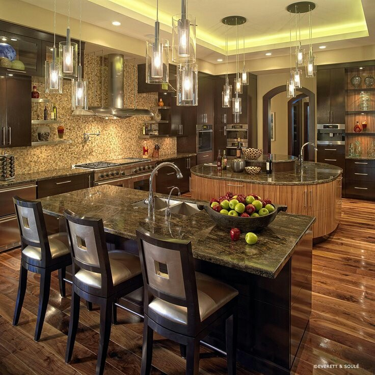find this pin and more on kitchen kitchen with awesome lighting