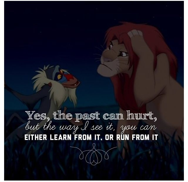 I Have A Ton Of Favorite Lion King Quotes But This Scene