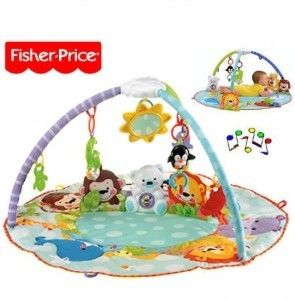 9 best babies kids on bumper playmat images on pinterest little fisher price precious planet deluxe musical activity gym s8390 available at http publicscrutiny Images