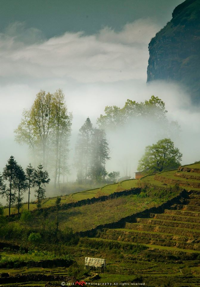"""Y Ty commune locates in the west of Bat Xat district, Lao Cai Province. Which is known as the """"land of fog"""" with the magnificent terraced rice fields and the most beautiful houses Photo: Le Viet Khanh _TO TRAVEL IS TO LIVE_ #idealtravel #travelasia #trekking #wanderlust #wander #destination #Vietnam #wow #landscape #bhm #traveling #traveladdict #traveltheworld"""