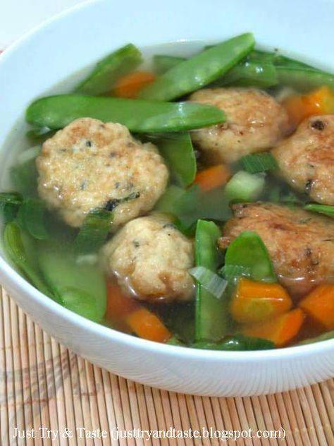 Sup Bola-Bola Tahu | Just Try & Taste
