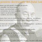 Il pensiero decrescente del Dalai Lama