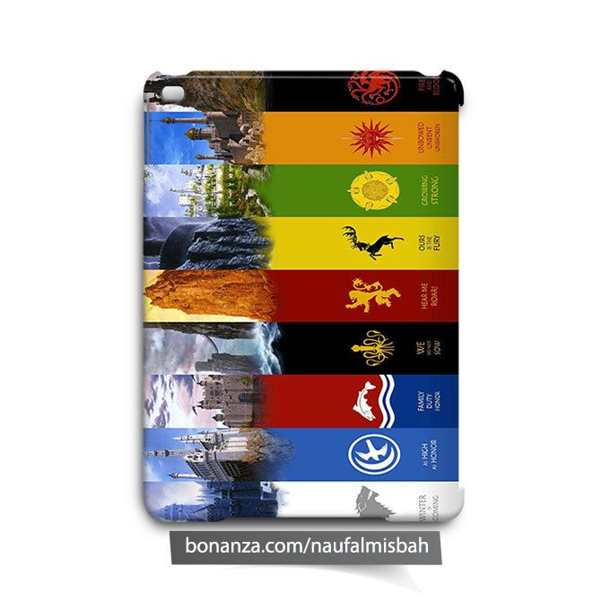 Game of Thrones Houses iPad Air Mini 2 3 4 Case Cover - Cases, Covers & Skins