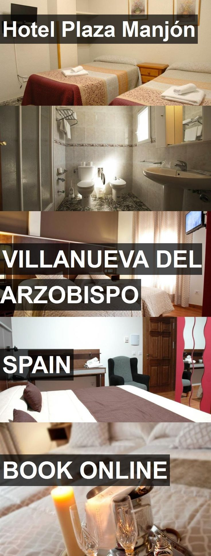Hotel Hotel Plaza Manjón in Villanueva del Arzobispo, Spain. For more information, photos, reviews and best prices please follow the link. #Spain #VillanuevadelArzobispo #HotelPlazaManjón #hotel #travel #vacation