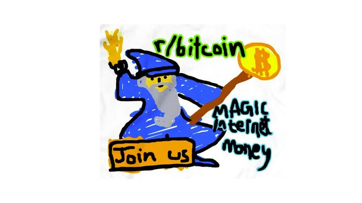 Bitcoin Nerds Are Trying to Get This Cartoon Wizard Into The Wall Street Journal