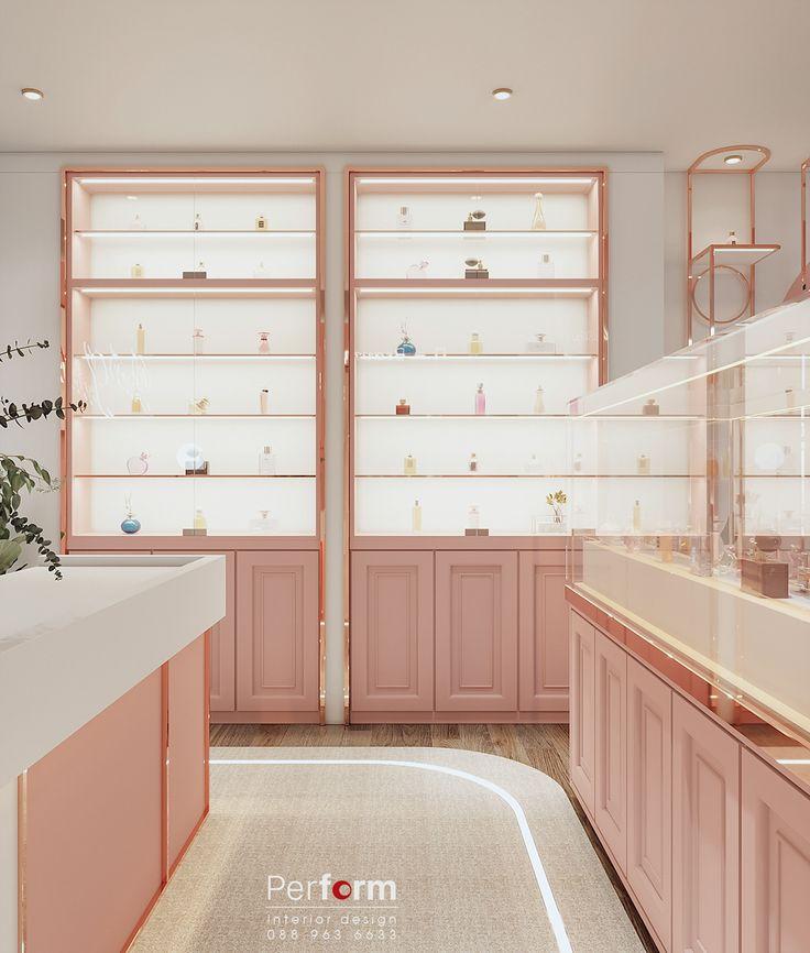 Perfume shop luxury on Behance