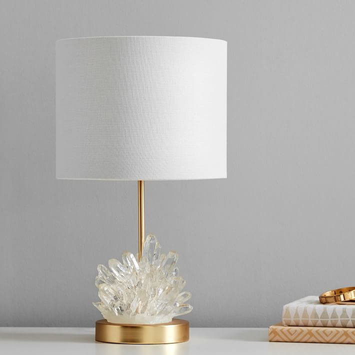 Geode Burst Table Lamp In 2020 Table Lamp Table Lamps For