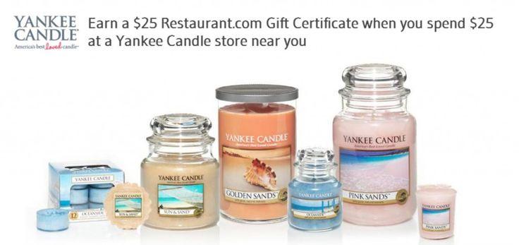 Earn a $25 Restaurant.com Gift Certificate!