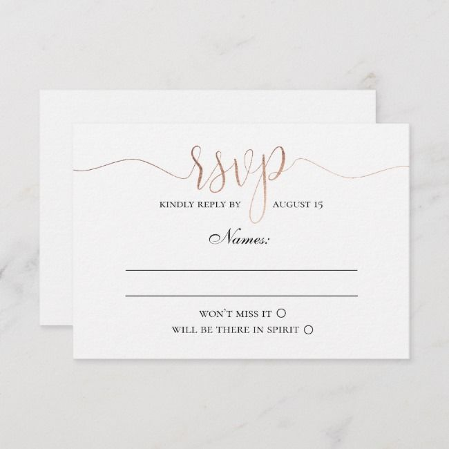 Create Your Own Response Card Zazzle Com With Images Diy