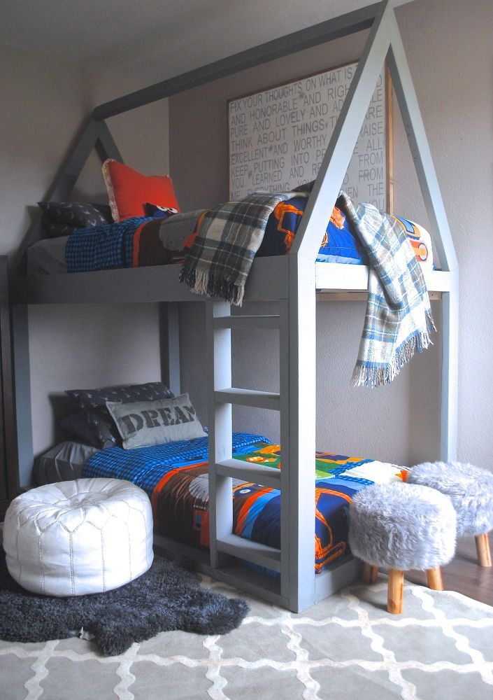 Build A House Bunk Bed