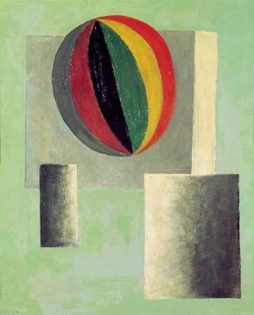 Josef Sima ( Czech: 1891 – 1991) |  Hot Air Balloon