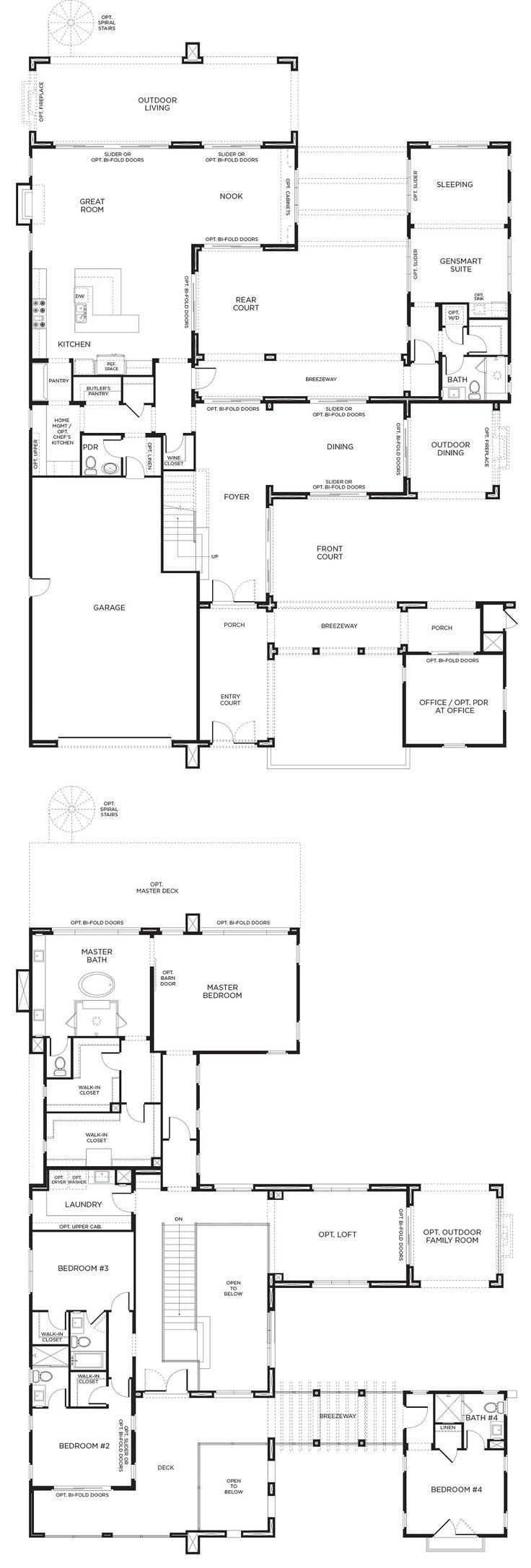 210 best house plans images on pinterest house floor plans