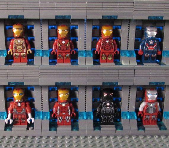 Iron Man GANTRY GARAGE Custom Lego Minifigure by ToyAndFashion