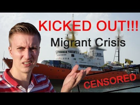 (28) FORBIDDEN NEWS - Reporting on NGO migrant vessel - YouTube
