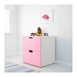 IKEA - СТУВА, Комод с 2 ящиками, зеленый, , Расположите модули для хранения на…