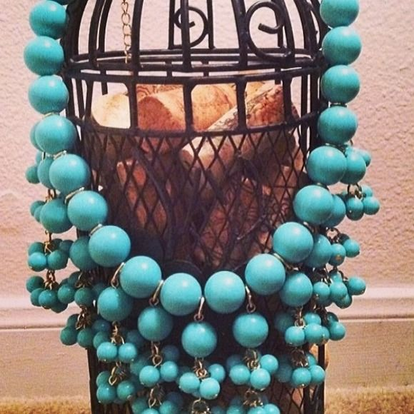 """Selling this """"Teal """"Fiesta"""" Necklace"""" in my Poshmark closet! My username is: shenzijewelry. #shopmycloset #poshmark #fashion #shopping #style #forsale #Jewelry"""
