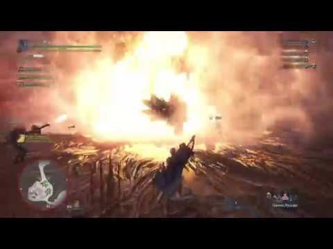 MHWorld Arch Tempered Kulve Taroth Pursuit 1 with Great
