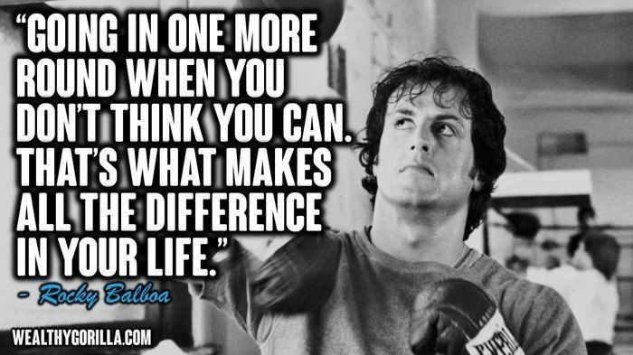 17 Most Inspirational Rocky Balboa Quotes Speeches Rocky