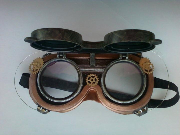 DIY: Steampunk goggles I made for my boyfriend | art and ...