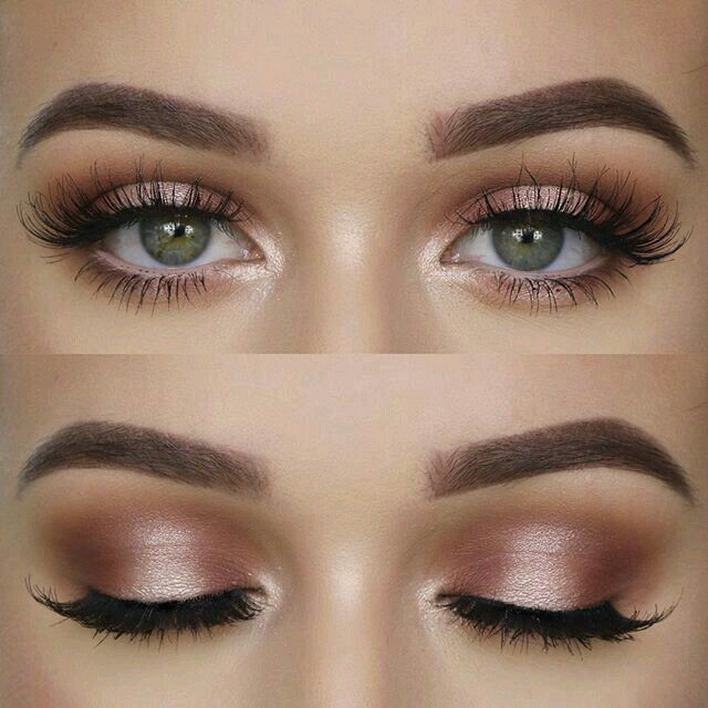gorgeous pink champagne eyeshadow look | Beauty | Makeup ...