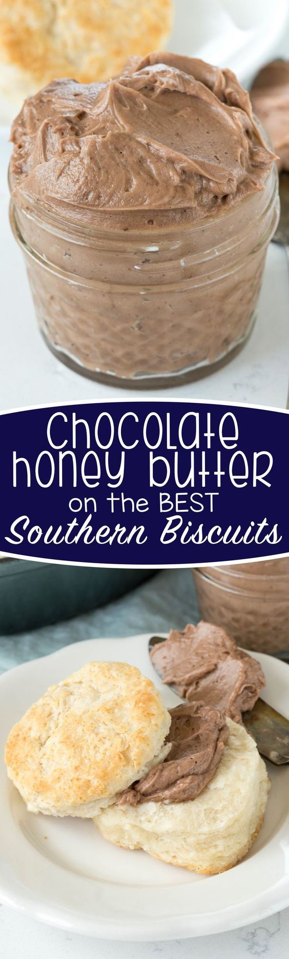 Chocolate Honey Butter - this recipe is so easy and indulgent! Whip butter with…