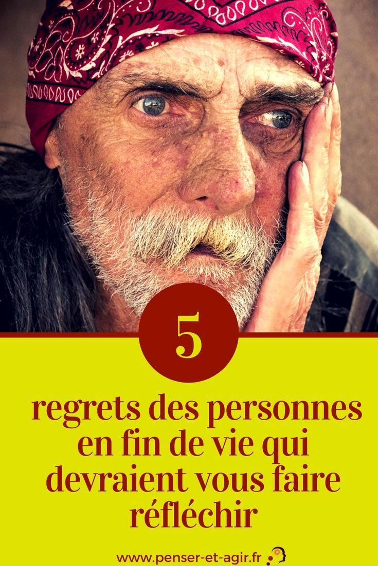 Les 5 Regrets Des Personnes En Fin De Vie : regrets, personnes, Regrets, Personnes, Devraient, Faire, Réfléchir, Regret,