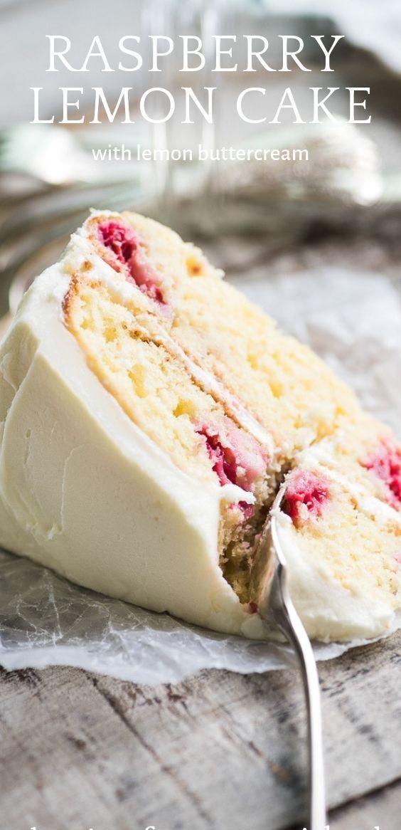 Raspberry Lemon Cake | angel2 food #cake