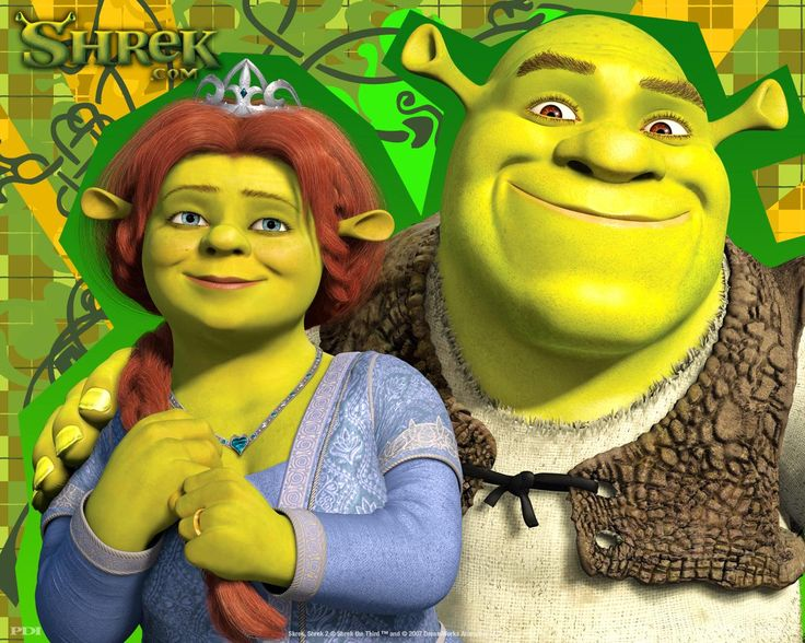 Fiona and Shrek
