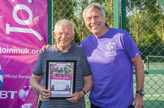 Blood, Sweat and Volunteers  By Dave Moorcroft  Former 5,000m world record holder & Director of Sport at Join In, a London 2012 legacy charity that puts more volunteers into local sport.