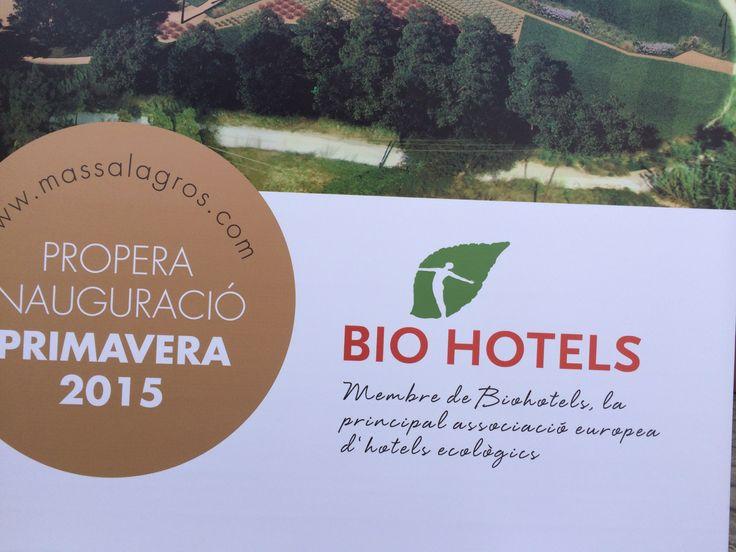 Mas Salagros, Eco Resort & Ancient Baths - das erste BIO HOTEL Spanien - Eröffnung ist im Frühjahr 2015 geplant. #biohotels #spanien