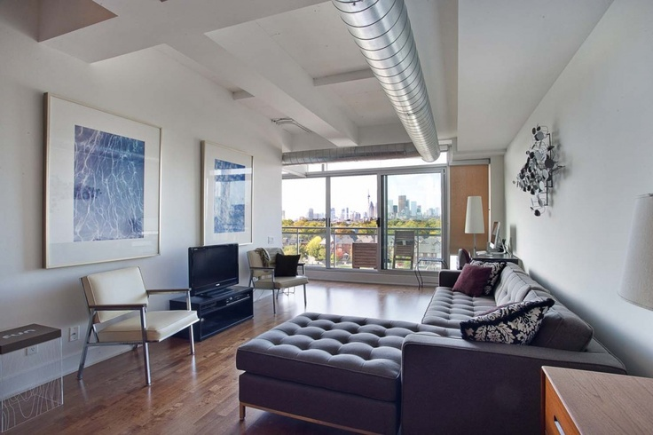 Garment Factory Lofts in Leslieville - 888sqft of sexy goodness. Click for details. Re-pin for good Karma! www.springrealty.ca $490,000