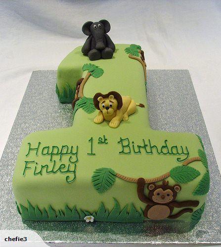 First Birthday Cake Idea Baby Pinterest