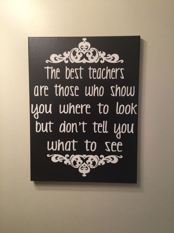 The best teachers gift for teacher teacher by SunShineWallArt