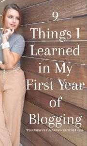 9 Lessons I've Learned in a Year of Blogging