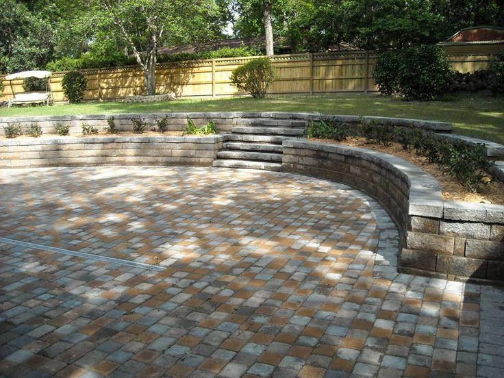 Backyard planter box, drainage, backyard patio, retaining wall