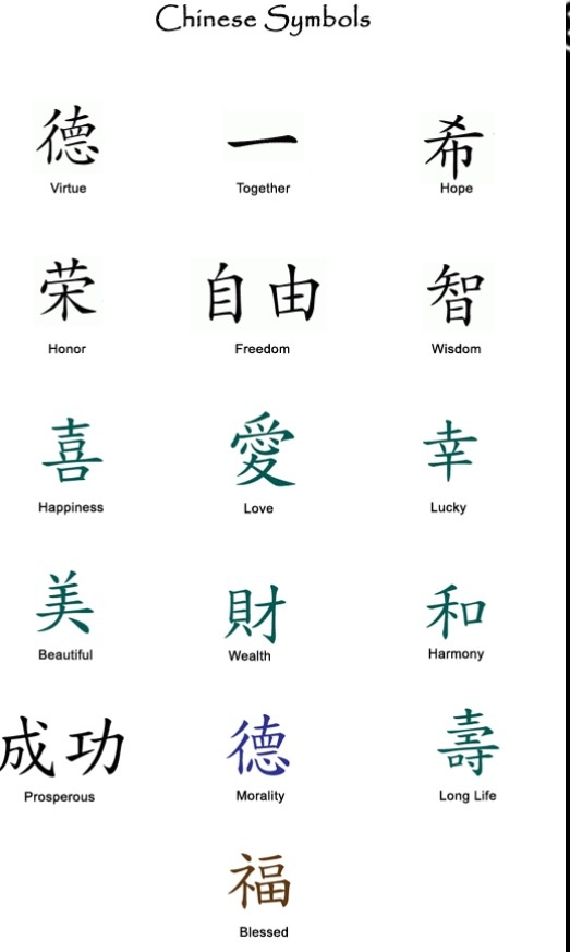 47 Best Chinese Tattoo Images On Pinterest