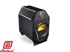 STOKER THERMO 100 WOOD BURNING HEATER WITH COOKING TOP