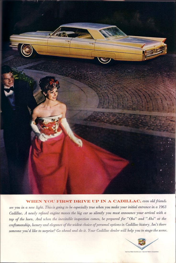 COMMUNICATING CLASS: CADILLAC ADS FROM THE 1960S