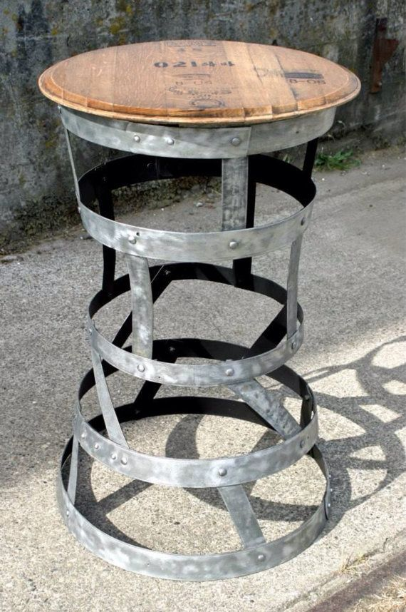 CRAZY New Year Sale!! Barrel Ring Bistro Table 750.00 Now 600.00!