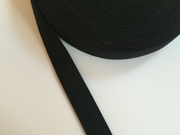 Black Suspender Elastic 1.2 in wide, black elastic belt by NoaElastics on Etsy