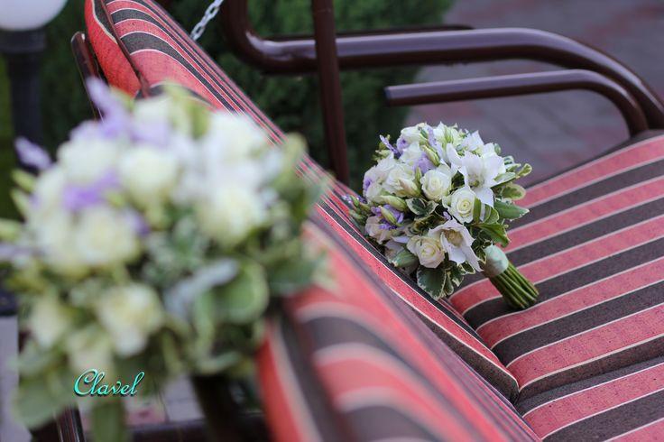 wedding flowers, lavender wedding