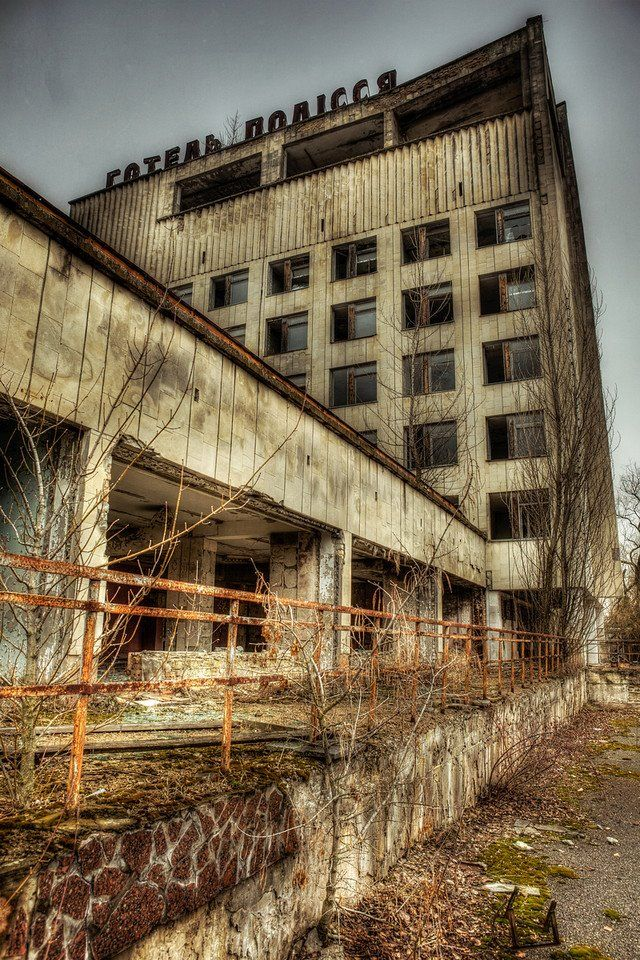 near Chernobyl. i wouldn't actually want to travel there specifically.. if it was free/part of another trip